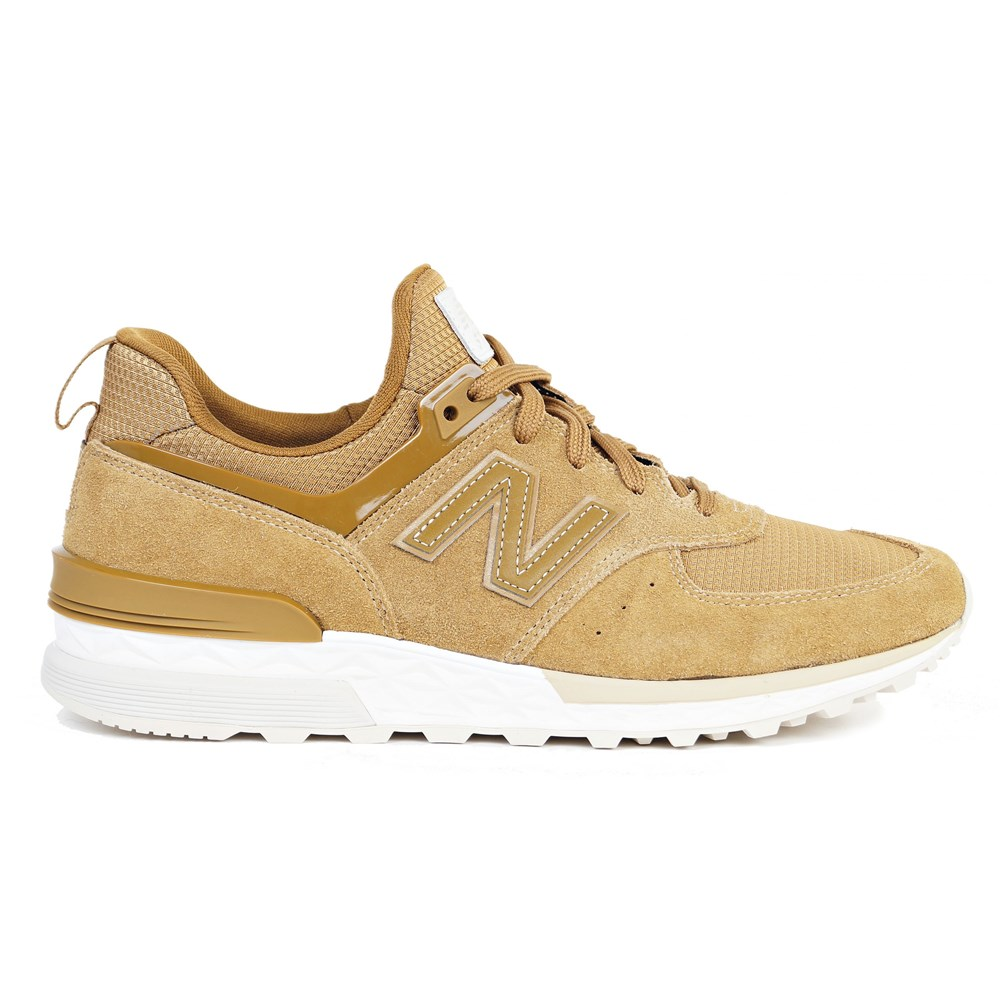 New Balance MS574FSB MS574FSB marrone scarpe basse