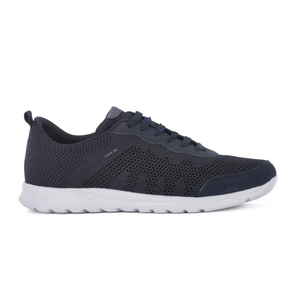 Geox Erast U823EB01122C4002 grafite scarpe basse