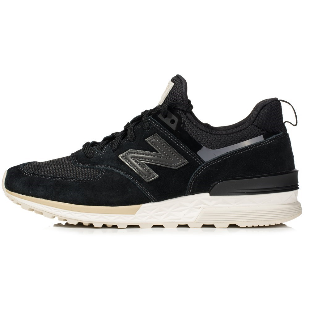 New Balance MS574FSK MS574FSK nero scarpe basse