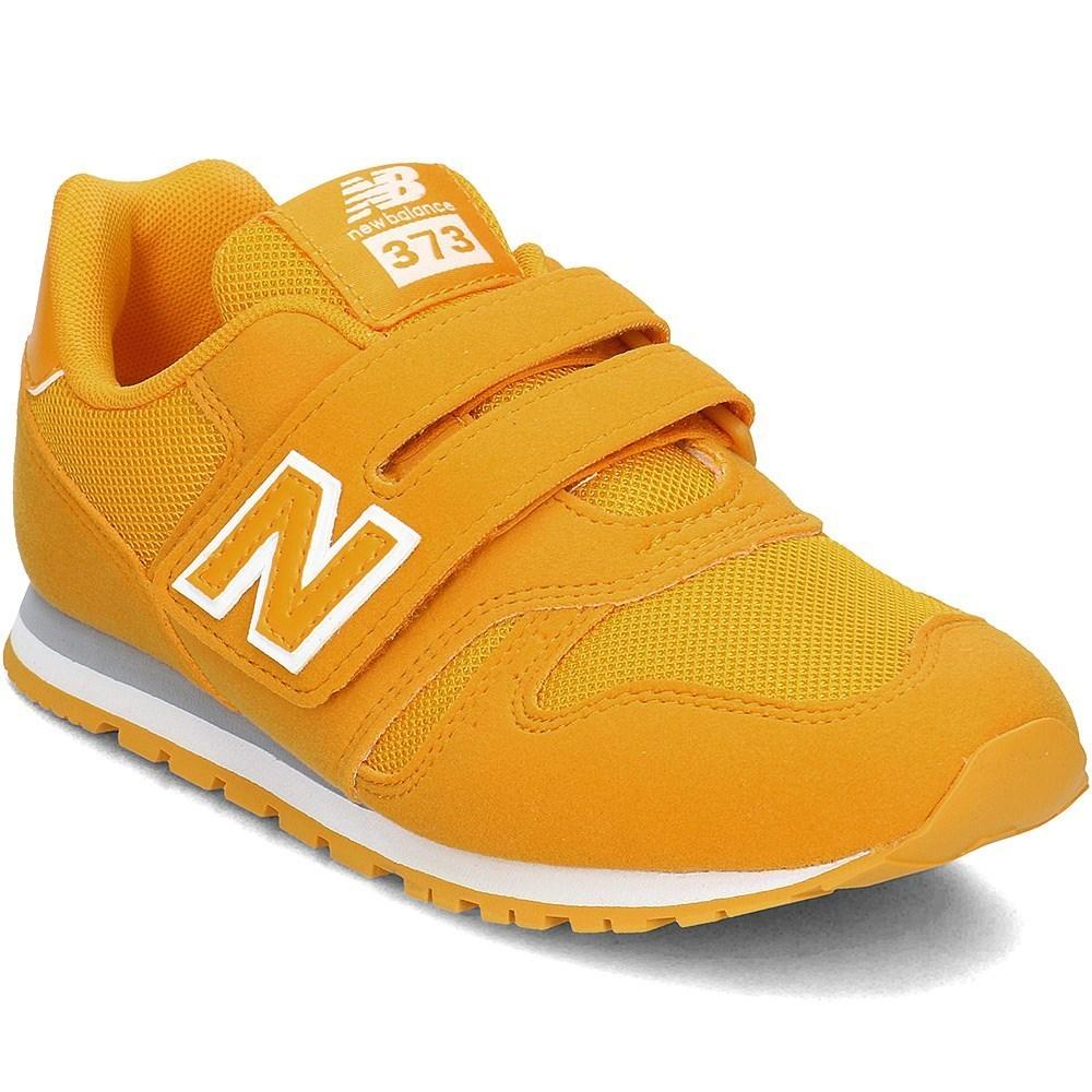 New Balance 373 KV373OWY arancione lunghezza caviglia