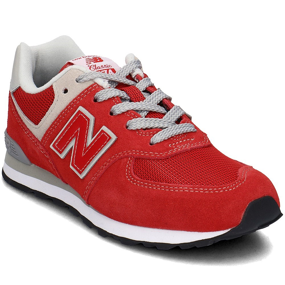 New Balance GC574RD GC574RD rosso scarpe basse