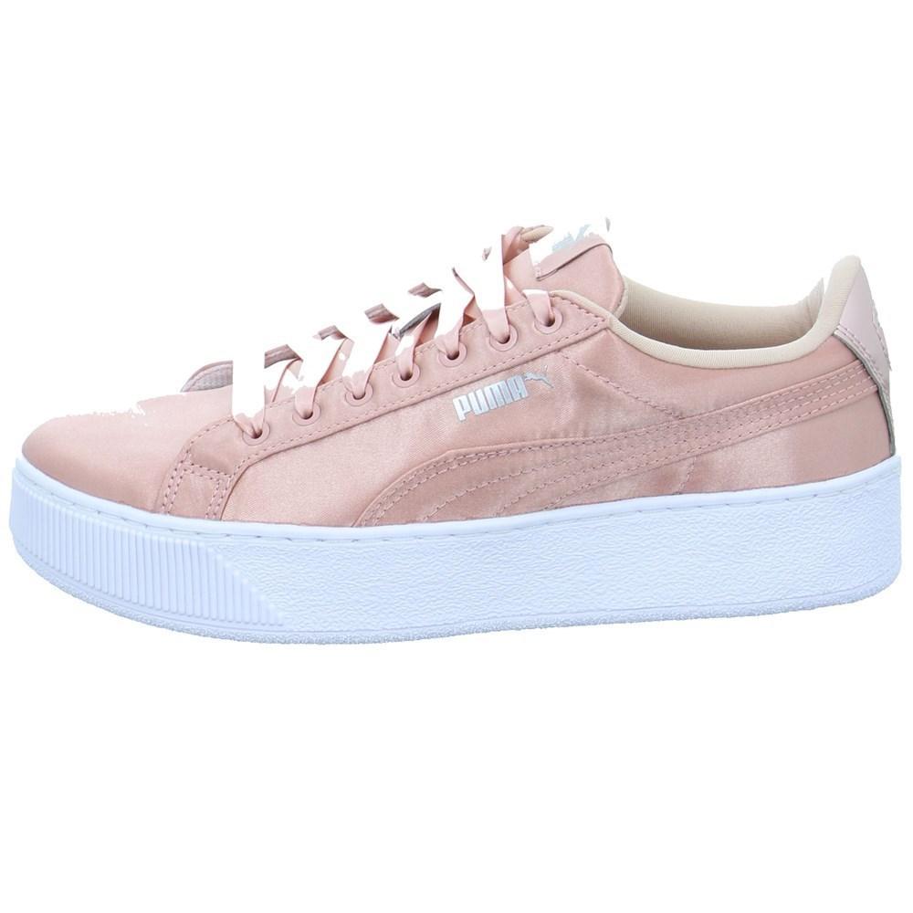 Puma Vikky Platform EP 3652390001 rosa lunghezza caviglia