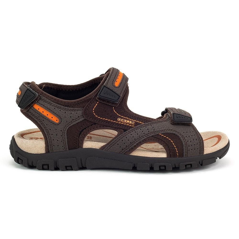 Alta qualit Geox Strada U8224D050AUC6Z7L marrone sandali
