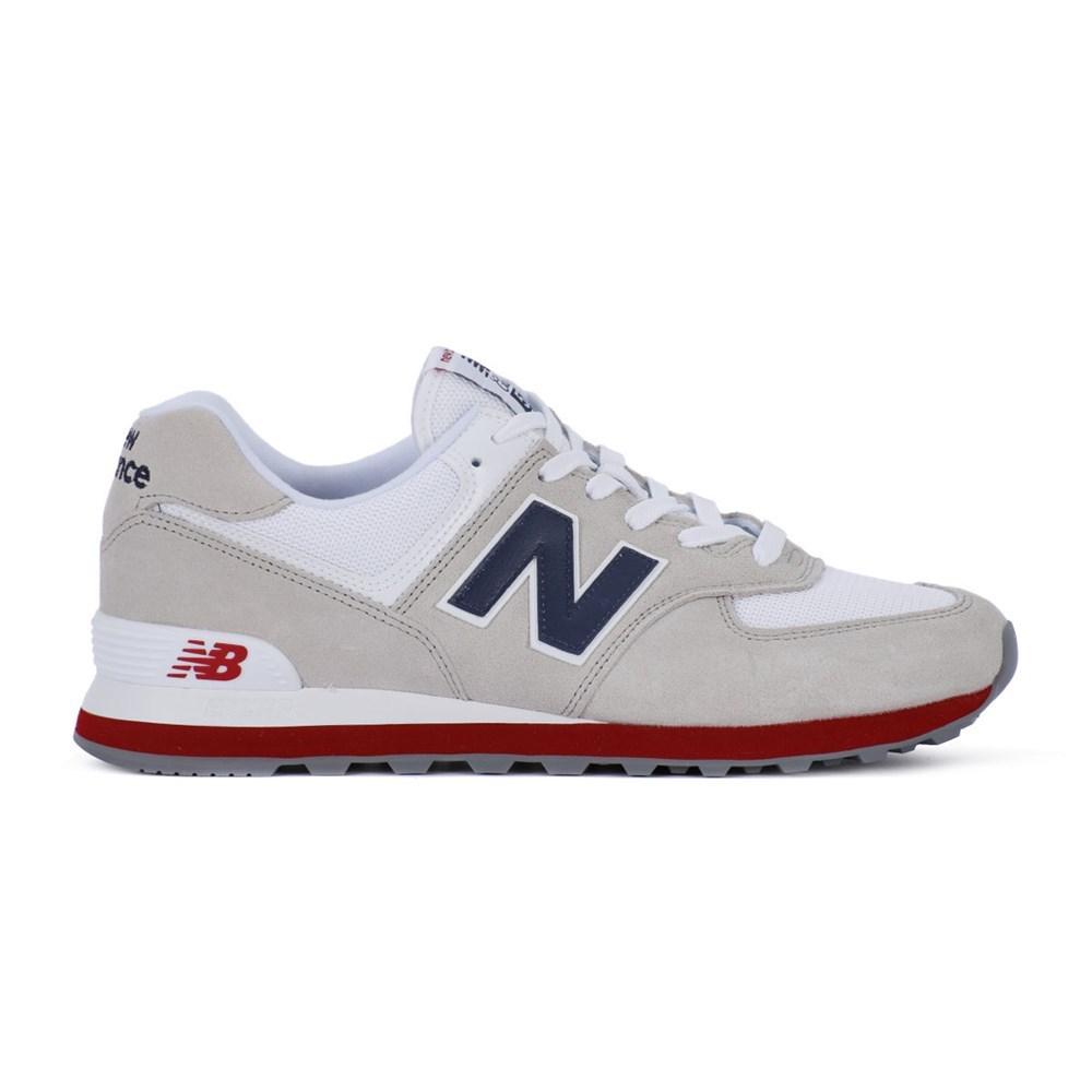 New Balance ML574ESAA ML574ESAA grigio lunghezza caviglia