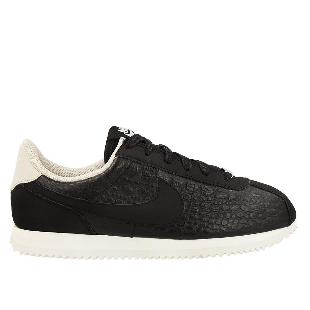 Nike Se Leather Negro D00871 Calzado Aa3043001 Cortez CUvq1CwB