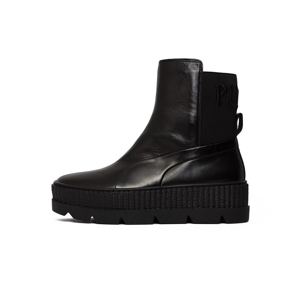 Puma X Fenty Chelsea Sneaker Boot 36626603 nero stivaletti