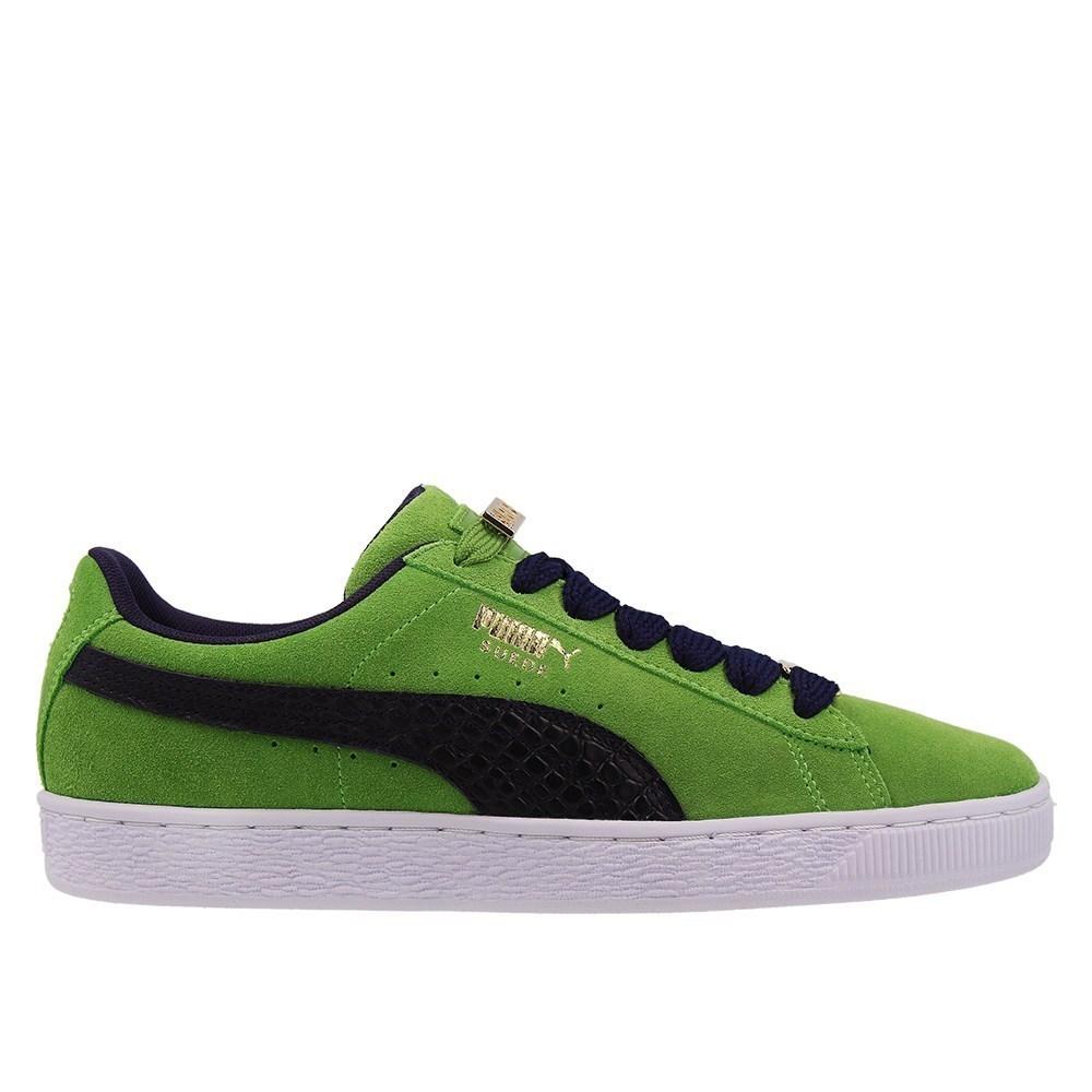 Puma Suede Classic Bboy Fabulous 36536203 verde lunghezza caviglia