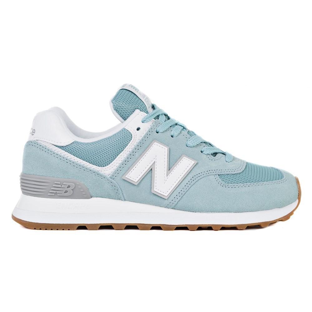 New Balance WL574ESY WL574ESY verde scarpe basse