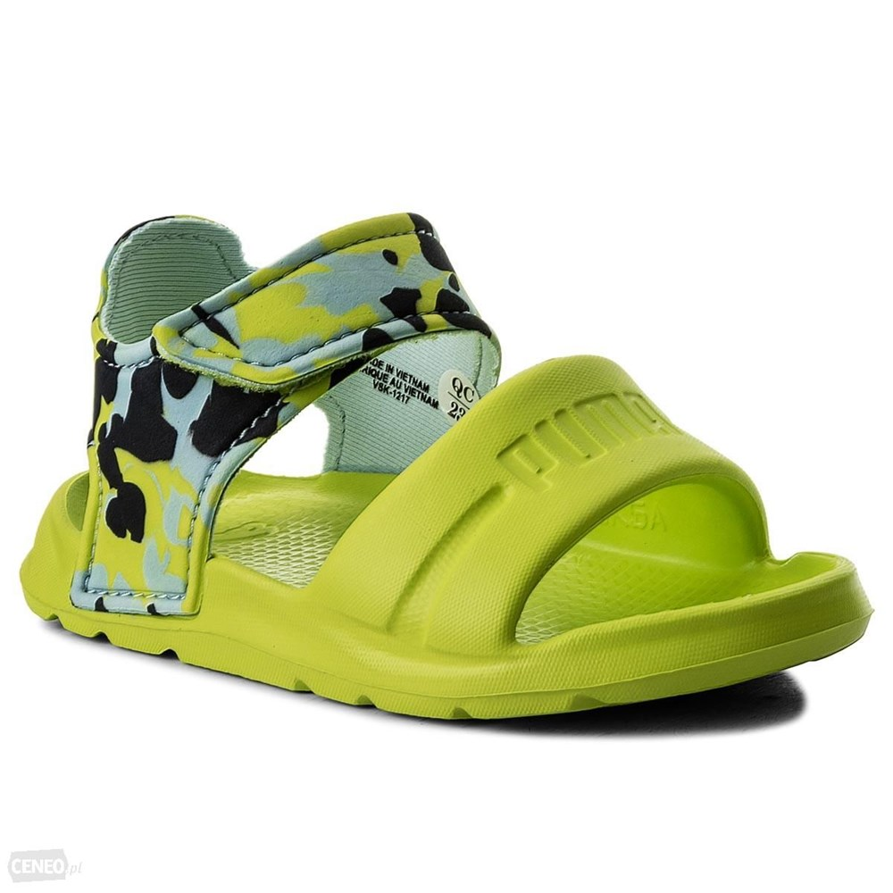 Details about Puma Wild Sandal Injex Camo PS 36508101 green 96613400a