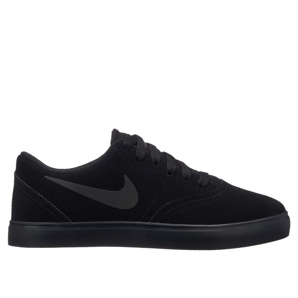 Nike SB Check Suede AR0132001 schwarz halfschuhe