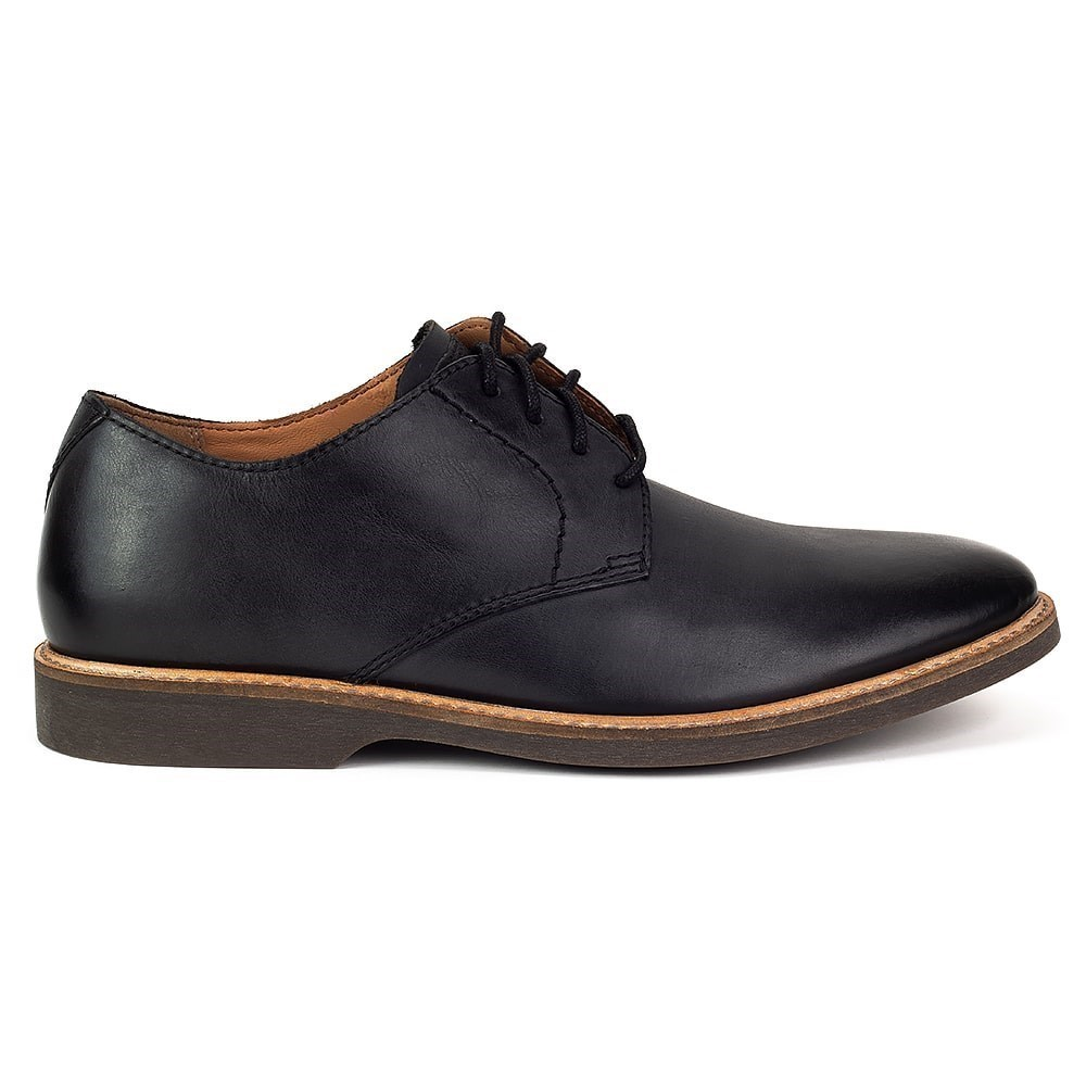 Details about Clarks Atticus Lace 261361557 black halfshoes