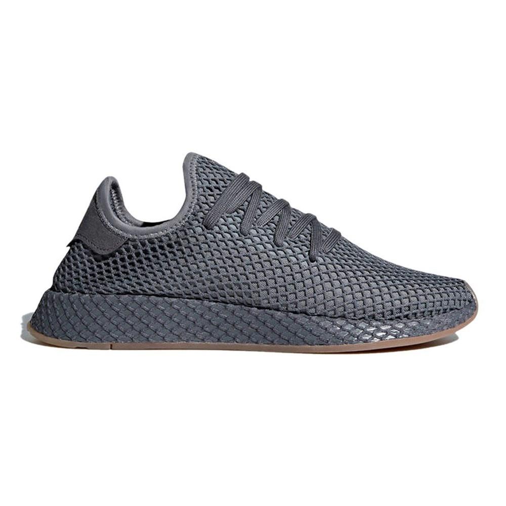Details zu Adidas Deerupt Runner DA9609 grau halbschuhe