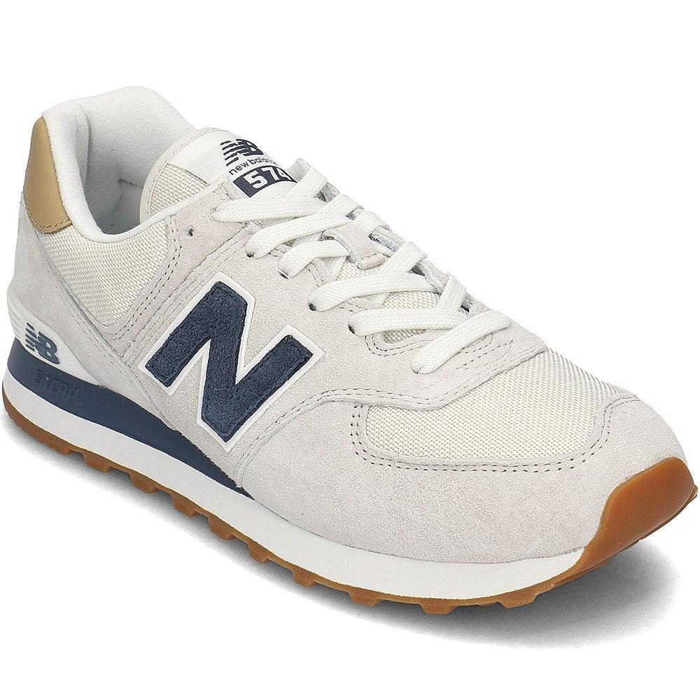 Details about New Balance 574 ML574LGI beige halfshoes