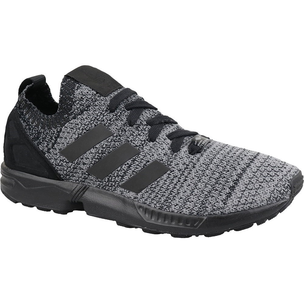 hot sales ca938 cb594 Details about Adidas ZX Flux Primeknit BZ0562 black halfshoes