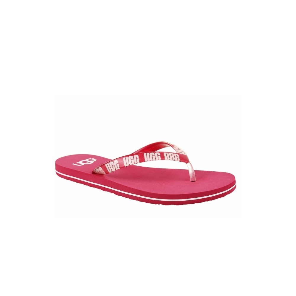 shoes for cheap factory price official Details about UGG Simi Graphic 1099831SSNG pink tong