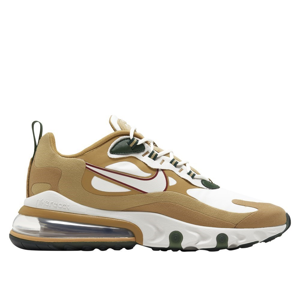 Details about Nike Air Max 270 React AO4971700 golden halfshoes